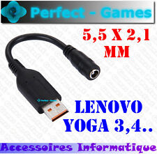 Power converter adapter Cable Lenovo YOGA 3 YOGA 4 pro 700 900 miix 5.5x2.1mm