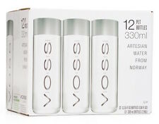 VOSS Artesian Water (Still), 330ml Plastic Bottles (Pack of 12)