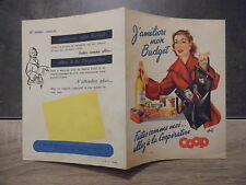 Trés vieille publicité magasin COOP – j'améliore mon budget