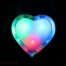 Heart Shaped LED Wall Nightlights Cute Energy saving Light 3D Design Decoration