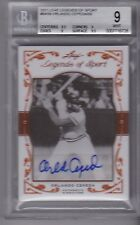 ORLANDO CEPEDA 2011 Leaf Legends of Sport Bronze Autograph #'d /50 BGS 9/10 auto