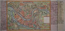 Lyon - Originaler Kupferstich von Gabriel Bodenehr - 1725
