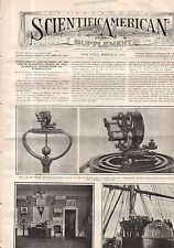 1910 Scientific American Supp March 19 - Wright Suit; Sad-Iron; Halley's Comet