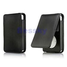 Black Leather Flip Case Cover Skin for Apple iPod Classic 80 120GB Крышка корпус