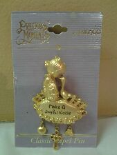 Precious Moments Enesco Classic Lapel Pin Make A Joyfu Noise