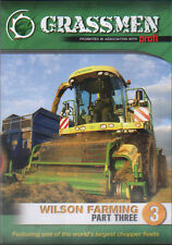 Tractor Farming DVD: GRASSMEN - Wilson Farming Part Three