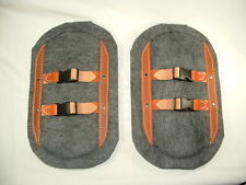 "Stay Put Saddle Pads 3/4"" thick, mini donkey, horse, packgoat goat"