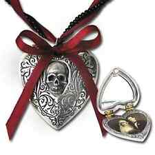 GENUINE Alchemy Gothic Pendant - The Reliquary Heart Locket | Ladies Necklace
