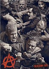 Sons of Anarchy ~ Complete 6th Sixth Season 6 Six ~ BRAND NEW 5-DISC DVD SET