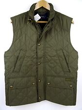 NEW MENS 100% GENUINE RALPH LAUREN QUILTED SOUTHBURY GILET GREEN/OLIVE XL £255