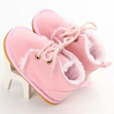 Thick Pink Toddler Infant Baby Boy Snow Boots Winter Warm Crib Shoes Months 12