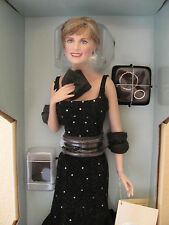 "Franklin Mint  Diana ""Princess Of Sophistication"" Porcelain Portrait Doll."