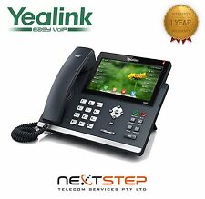 Yealink VoIP T48G Gigabit PoE IP Phone,Bluetooth,Touch screen,SIP-T48G Telephone