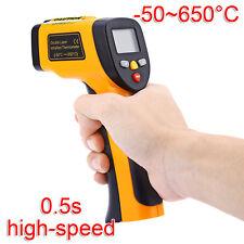 LCD Infrarouge Numérique Laser Thermomètre IR Pyromètre Température Pistolet