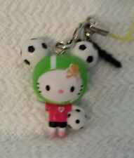 Hello Kitty Mystery Blind FRENZIES SOCCER KITTY vinyl keychain/phone attachment