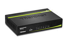 TRENDnet TEG-S80g 8-Port Gigabit GREENnet Desktop Metal Case Ethernet Switch