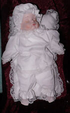 Collectible Newborn Baby Doll in White Unbranded Price Reduced