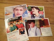 ONE DIRECTION-NIALL HORAN-LOUIS-ZAYN-LIAM PAYNE-PROMO POSTCARDS-PILLOW TALK
