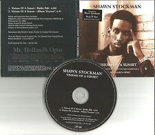 Boyz II Men SHAWN STOCKMAN Visions of a sunset w/ RARE EDIT PROMO DJ CD Single