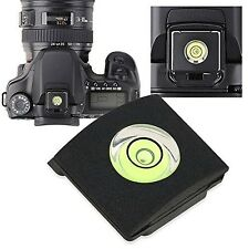 New Hot Shoe w Bubble Spirit Level Protector Cover for Nikon D3X DSLR Camera