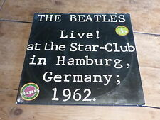 THE BEATLES - LIVE AT THE STAR CLUB !!!!!! - RARE DOUBLE VINYL!!!!!!!