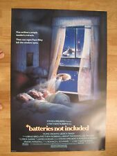 BATTERIES NOT INCLUDED   Original American One Sheet   (Universal, 1987)