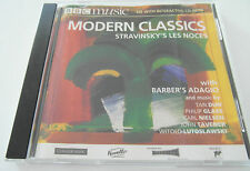 BBC Music - Modern Classics - Stravinsky`s Les Noces (CD Album) Used Very Good