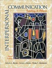 Interpersonal Communication: Relating to Others (Book Alone)-ExLibrary