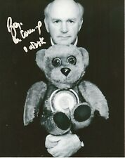 ROGER DE COURCEY Signed 10x8 Photo NOOKIE BEAR Ventriloquist COA