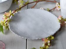 MIKASA Hush GREY EMBOSSED Stoneware SIDE PLATE