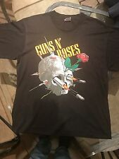 True Vintage 1988 Guns N Roses Appetite For Destruction Needle Skull Shirt