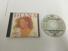 Diana Ross - Why Do Fools Fall In Love - WEST GERMAN PRESS CD album 1981