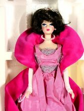 NIB BARBIE DOLL 1990 SOPHISTICATED LADY 1965 REPRODUCTION PORCELAIN