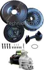 SOLID FLYWHEEL AND CLUTCH, CSC, BOLTS WITH STARTER FORD MONDEO 2.0 TDDI 5 SPEED