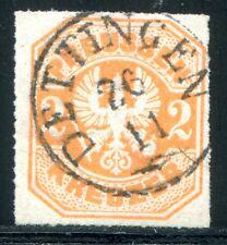 PREUSSEN 1867 23 gestempelt HINGUCKER DETTINGEN (D4640