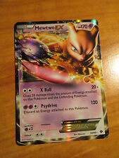 NM MEWTWO EX Pokemon card NEXT DESTINIES Set 54/99 Black and White BW Ultra Rare