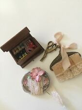 Miniature Dolls Designed Custom Md Sewing Accessories 4 Antique Doll or House