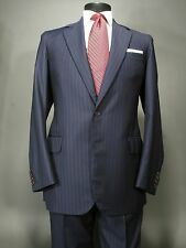 THORNS London off Savile Row Bespoke Navy Suit 40 L Wain Shiell Wool, Kiton Tie