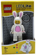 The LEGO Bunny Suit Guy LED Lite Mini Figure Key Light Torch Toy Keychain