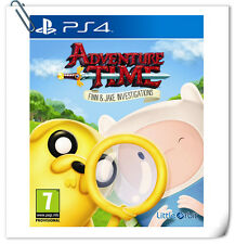 PS4 Adventure Time Finn and Jake Investigations SONY Little Orbit Adventure Game