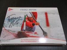 57732 Franz Anton Kanu Slalom original signierte Autogrammkarte