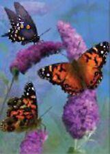 """Beautiful Butterfies Garden Size (13"""" x 18"""" Approx) Flag..8.... PR 51996"""
