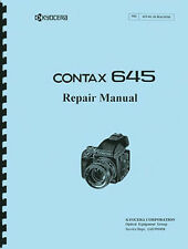 Yashica / Kyocera Contax 645 Camera Service & Repair Manual