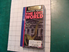 Factory Sealed VHS: THE LOST WORLD wallace beery, bessie love c. 1990 silent '25