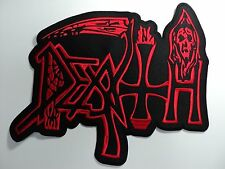 DEATH  EMBROIDERED BACK PATCH