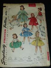 "Vintage SIMPLICITY 1779 25""  DOLL CLOTHES Pattern Sweet Sue Binnie"