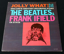 BEATLES & FRANK IFIELD ON STAGE: JOLLY WHAT! AUTHENTIC VEE JAY 1085! MONO! NM!
