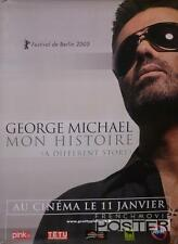 GEORGE MICHAEL DOCUMENTARY - GAY LGBT - RARE ROLLED ORIGINAL MOVIE POSTER