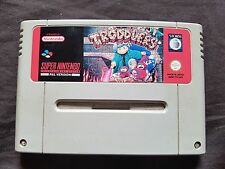 THE TRODDLERS Super Nintendo SNES Game