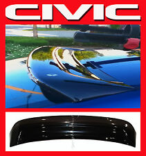 JDM 2004 Civic EM 2 Door Coupe Rear Roof Visor with Stability Brackets EM2 SALE!